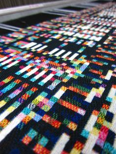 Glitch Textiles by Phillip David Stearns