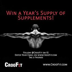 "@CROOFIT BODYBUILDING & FITNESS SUPPLEMENTS DELIVERED MONTHLY.  NO GIMMICKS.   @CROOFIT is the best way to discover supplements gym goodies and featured workouts by fit mothertruckers.  No ""motivational posters"" worth $30. All good shit. No bullshit.   Launching soon stay posted! We'll announce the winner when we launch! by croofit"