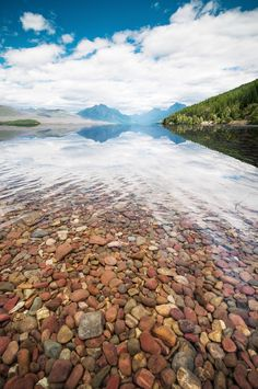 Lake McDonald, Glacier National Park, Montana Beautiful Photos Of Nature, Nature Photos, Beautiful World, Lake Mcdonald, Big Sky Country, Rios, Going On A Trip, Science And Nature, Homeland
