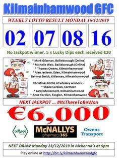 Support the fundraising efforts of Kilmainhamwood GFC, Kilmainhamwood Kells, Meath. Lotto Draw, Jackpot Winners, Number Drawing, Text Messages, Fundraising, Effort, Dip, Texts, Jackson