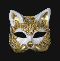 From Venice Italy Direct Manufacturer Venetian Masks Shipping worldwide for your Masquerade Ball Party Cat Masquerade Mask, Masquerade Ball Party, Venetian Masquerade Masks, Italian Masks, Silver Mask, Kitsune Mask, Lace Mask, Cool Masks, Carnival Masks