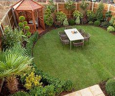 Best Small Yard Landscaping & Flower Garden Design Ideas - New ideas Garden Design Ideas Uk, Cottage Garden Design, Backyard Garden Design, Garden Landscape Design, Small Garden Design, Backyard Patio, Garden Inspiration, Backyard Ideas, Gravel Patio