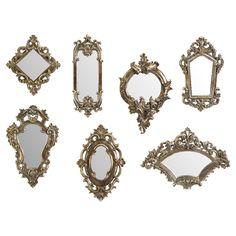 7 Piece Wall Mirror Set