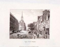 Upper Street, Islington, London Fine Art Print by Anonymous