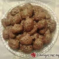 Ονειρεμένα μελομακάρονα Greek Sweets, Greek Desserts, Greek Recipes, Greek Cake, Greek Cookies, Sweets Cake, Apple Crisp, Food To Make, Food And Drink