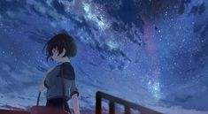 This HD wallpaper is about anime, anime girls, Original wallpaper dimensions is file size is Anime Girl Short Hair, Anime Girl Cute, Anime Art Girl, Anime Girls, Anime Scenery Wallpaper, Anime Artwork, Girl Wallpaper, 1080p Wallpaper, Anime Galaxy