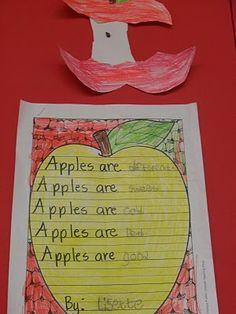 Apple Descriptive Writing