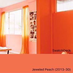 Benjamin Moore Jeweled Peach 2013-30 | SwatchDeck