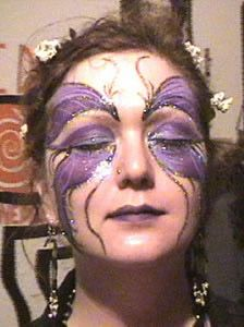 mardi gras makeup | ... like halloween and mardi gras mark popular seasons for face painters