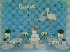 268 Melhores Imagens De Chá De Bebê Menino Baby Shower Parties