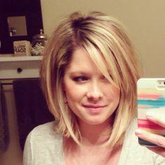 Love this haircut.  Kate | The Small Things Blog