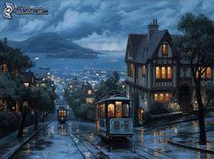 ciudad-de-noche,-tranvias,-mar-183942.jpg (674×505)