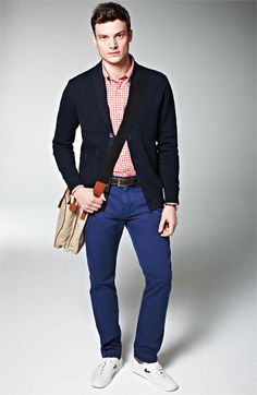 Jack Spade 'Phipps' gingham woven shirt in red