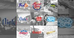 Brand by Hand: Artist Turns Old Brand Logos Creative by Handwriting