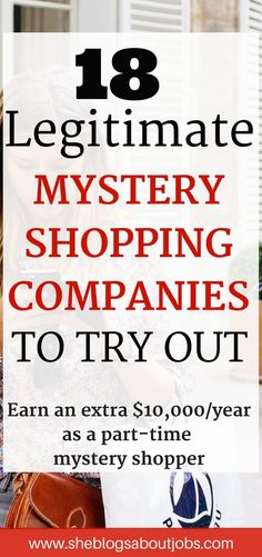 Make easy money| Make money from home | Mystery shopping | Mystery shopper jobs
