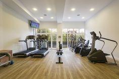 La sala de cardio de nuestro gimnasio, ¡no te pares! The cardio-fitness room in our gym, no rest for the wicked! #ama #islantilla #andalusia #andalucía #hotel #luxury #lujo #resort #spa #gym #cardio #fitness