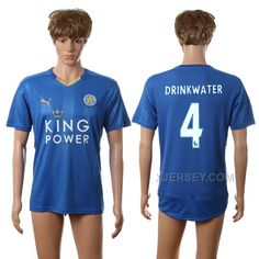 http://www.xjersey.com/201617-leicester-city-4-drinkwater-home-thailand-jersey.html 2016-17 LEICESTER CITY 4 DRINKWATER HOME THAILAND JERSEY Only $35.00 , Free Shipping!