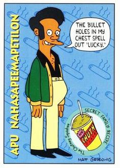 1993 SkyBox The Simpsons #S10 Apu Nahasapeemapetilon | Trading Card Database Tv Funny, Watch Cartoons, Dysfunctional Family, Collector Cards, Trading Card Database, Kids Shows, Cool Wallpaper, Favorite Tv Shows, The Simpsons