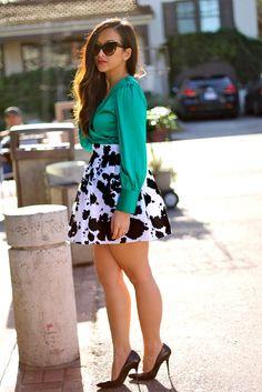 Black Clouds Skirt <3