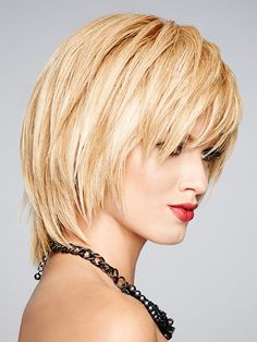 Applause Human Hair Wig Lace Front Mono Top - pinupi love to share Trending Hairstyles, Short Bob Hairstyles, Wig Hairstyles, Pixie Haircuts, Hairstyle Ideas, Medium Length Layered Hairstyles, Celebrity Hairstyles, Hair Ideas, Medium Hair Styles