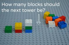Math Activities for Preschoolers: Learning With Legos - Simple Problems