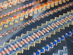 Chanel. Atelier Montex. Serie di ricami eseguiti con perline. Courtesy of Chanel 24/42