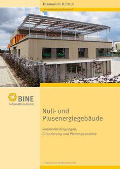 """Bisher sind die meisten Gebäude im Bestand reine Energieverbraucher: Der Strom kommt aus dem Stromnetz und die Wärme von einem Heizkessel, einer Wärmepumpe oder einem Wärmenetz. Doch verfügen Gebäude durchaus über mehr Möglichkeiten, die von ihnen benötigte Energie selbst zu erzeugen. Das neue BINE-Themeninfo """"Null- und Plusenergiegebäude"""" (II/2015) präsentiert die verschiedenen Konzepte."""