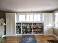 IKEA Hackers: Besta Built-In Family Room Bookshelf and TV Unit