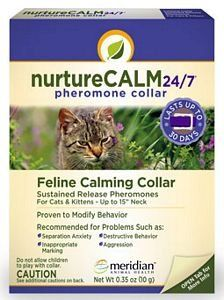 NurtureCALM 247 Feline Calming Pheromone Collar Upto 15 Neck *** Read more reviews of the product by visiting the link on the image.-It is an affiliate link to Amazon. #CatHouse