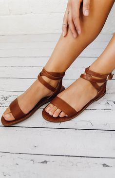 Windsor Smith   Bennie Sandal - Whisky Leather   New Arrivals   Peppermayo