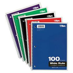Notebooks are essential to all our classes. Help students make the most of their time by donating some note books for them to use.