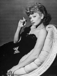 Lucille Ball.  I LOVE Lucy!