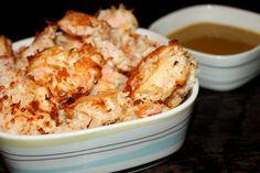 A Teaspoon and A Pinch: Baked Coconut Shrimp