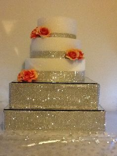 20 Rhinestone Bling Cake Stand By Dacceni On Etsy 400 00