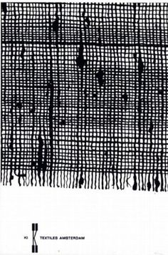 Knoll Textiles Amsterdam by Wim Crouwel (1961)
