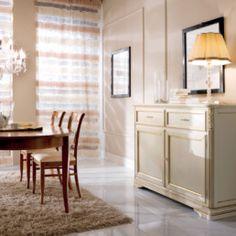 Bufet cu doua usi Marco Polo. Bufet cu doua usi Marco Polo poate fi amplasat in living, dining sau chiar intr-o bucatarie mai spatioasa. Ofera un spatiu generos pentru depozitarea si organizarea lucurilor necesare la servitul mesei. Este realizat din lemn masiv . Dimensiuni Lungime = 150 cm; Latime = 51 cm; Inaltime = 105 cm #mobilabucatarie #mobilalemn #mobilaalba Dining Room Design, Vanity, Cabinet, Storage, Kitchen, Furniture, Internet, Home Decor, Dressing Tables