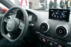Audi A3 with MMI Touch gesture-based entertainment system