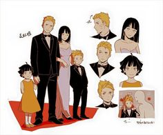family uzumaki They all look so good!