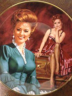 Vintage Limoge Amanda  Blake-Miss Kitty Plate by MinaLucinda