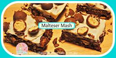 Maltesers, mmmmm! Any recipe that calls for maltesers is a winner in my book! This recipe alsouses SAHM staples condensed milk and chocolate, ticking all the boxes for a decadent treat!
