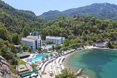 Turunç Resort Hotel - Jolly Tur Turu, Marmaris, Hotels And Resorts, Provence, River, Country, Places, Outdoor Decor, Google