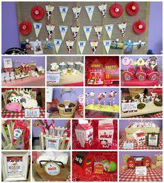 "Farm Birthday Party Ideas  -- ""Charlotte's Web"" party; Center for Puppetry Arts, Atlanta, GA"