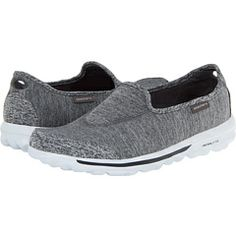 SKECHERS GO Walk ~ want these. They are light as a feather and so comfy. Grey & Size 8.5 as they fit small. Please please please!?