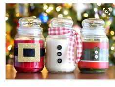 Simple decoration to candles I already have