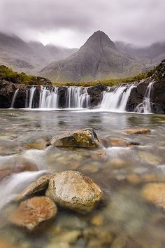 Fairy Pools - Glenbrittle, Isle of Skye, United Kingdom. #hikingandwaterfalls