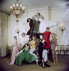 Christian Dior 1957 by Loomis Dean