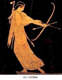 АРТЕМИДА. Артемида, убивающая Актеона. V в. до н.э.