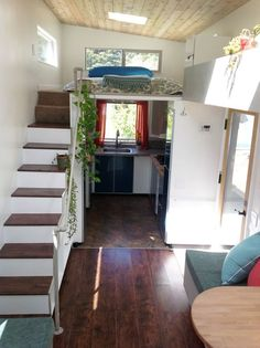 This is a 340 square tiny home on wheelsfor sale by dreambuilders.pro. From the outside, you'll notice it has plenty of windows and features a shed-style roof. This tiny home is built right …