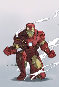 ArtStation - Iron Man - Mark IV, Dave Seguin