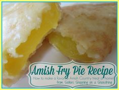 Amish Fry Pie Recipe – Sisters Shopping Farm and Home - Absolutely Delicious Amish Fry Pies….Step by Step directions for these tasty pies good for desse - Amish Fry Pies Recipe, Amish Recipes, Dutch Recipes, Pie Recipes, Dessert Recipes, Cooking Recipes, Recipies, Pocket Pie Recipe, Tasty